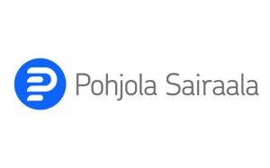 Pohjola Sairaala -logo ja linkki verkkosivuille.
